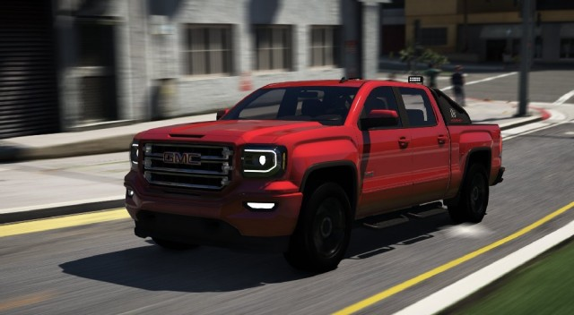 GMC Sierra 1500 Crew Cab All Terrain X 2017 (Add-On) v1.1