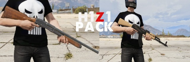 H1Z1(Just Survive) Weapons Pack v1.0