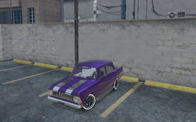 IZH 412 Moskvitch Hot Rod v1.0