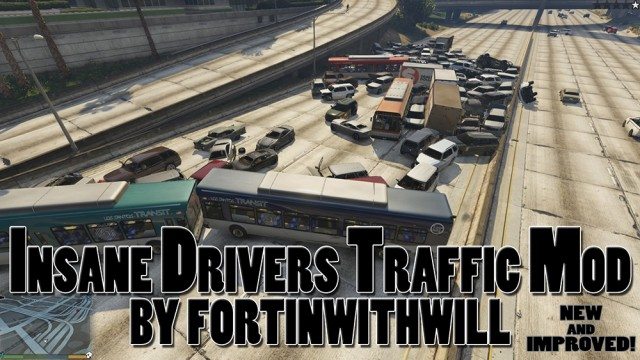 Insanely Bad Drivers Traffic Mod v1.2