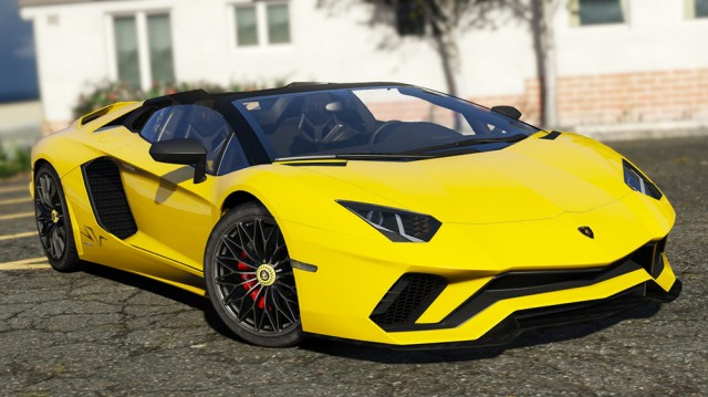 Lamborghini Aventador S Roadster 2018 (Add-On) v1.3