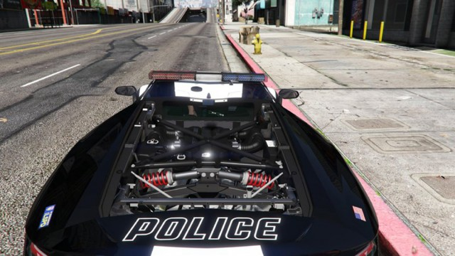 Lamborghini Centenario LP770-4 Police LSPD (Add-On/Replace)
