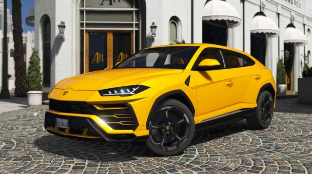 Lamborghini Urus 2018 (Add-On) v1.2