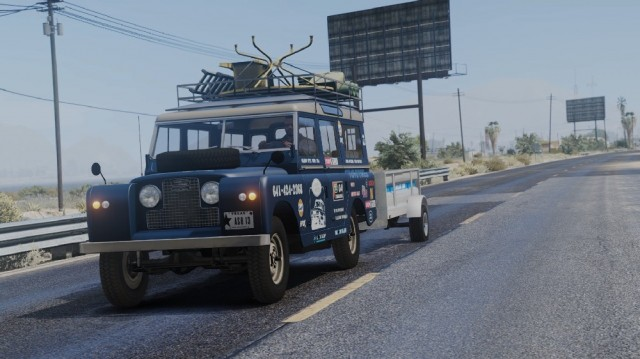 Land Rover Series II Model 109A 1971 (Add-On)