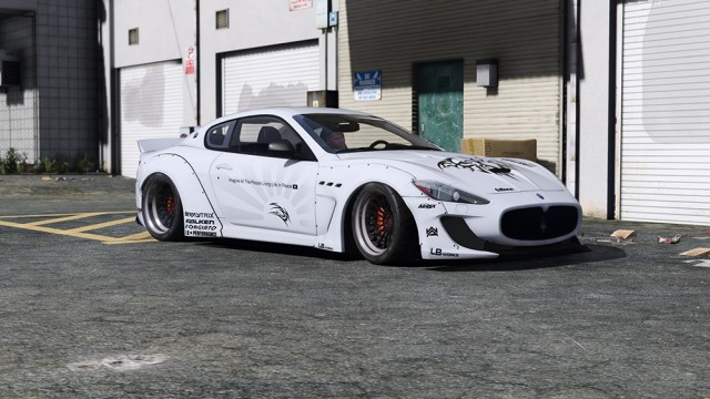 Maserati GranTurismo MC Stradale Liberty Walk 2013 (Add-On) v2.0