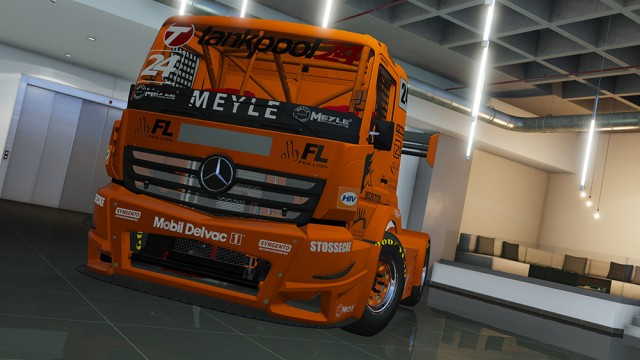 Mercedes-Benz #24 Tankpool Racing Truck 2015 (Add-On) v1.0