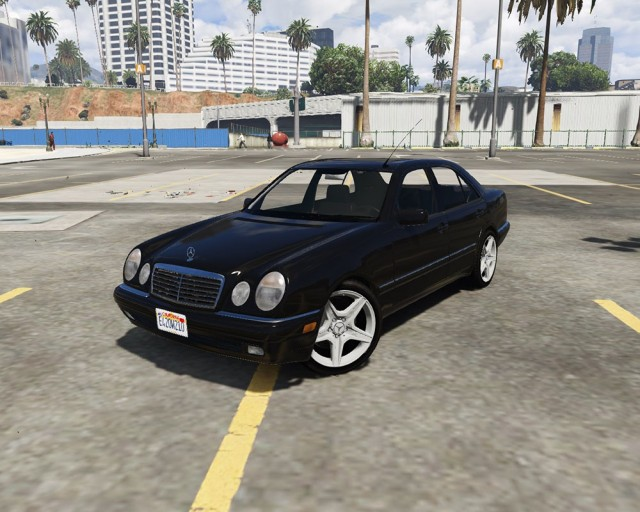 Mercedes-Benz E420 (W210) (Add-On/Replace) v2.0