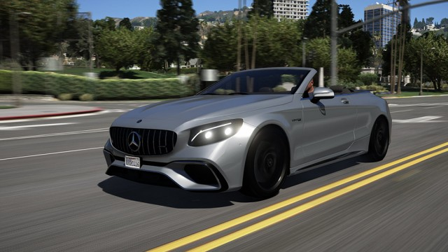 Mercedes-Benz S63 Cab 2018 (Add-On/Replace) v2.0