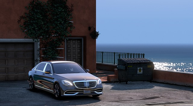 Mercedes-Maybach S 650 2018 v1.0
