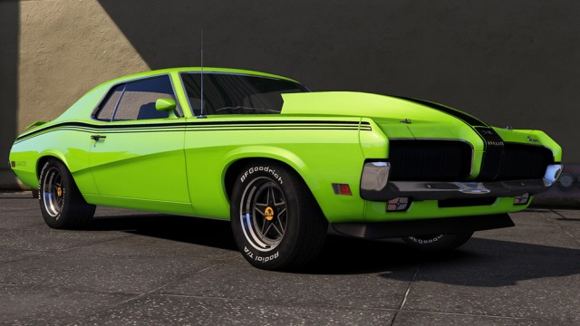 Mercury Cougar Eliminator 1970 (Add-On) v1.0
