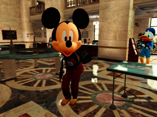 Micky Goofy and Donald suits for Michael Franklin and Trevor v1.0