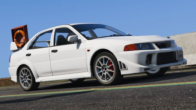 Mitsubishi Lancer Evolution VI 2001 (Add-On) v1.2
