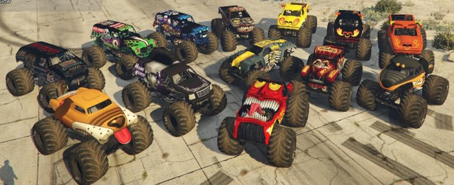Monster Jam Mega Pack (Add-On) v1.0