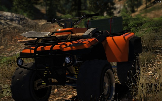 Nagasaki Blazer Recon ATV (Add-On/Replace) v1.0