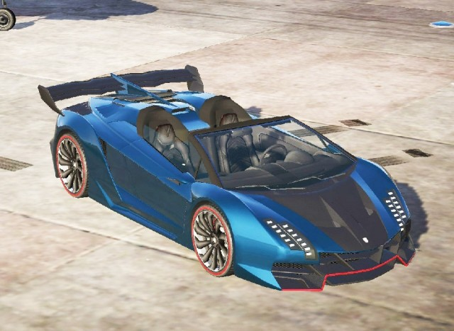 Pegassi Zentorno Roadster (Add-On) v0.095