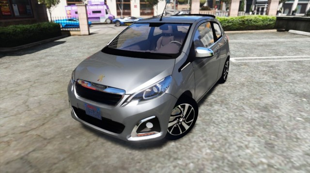 Peugeot 108 (Add-on/Replace) v1.0