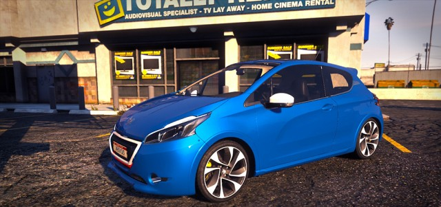 Peugeot 208 (Replace/Add-On) v1.1