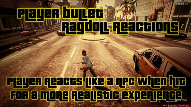 Player Bullet Ragdoll Reactions v1.0.1