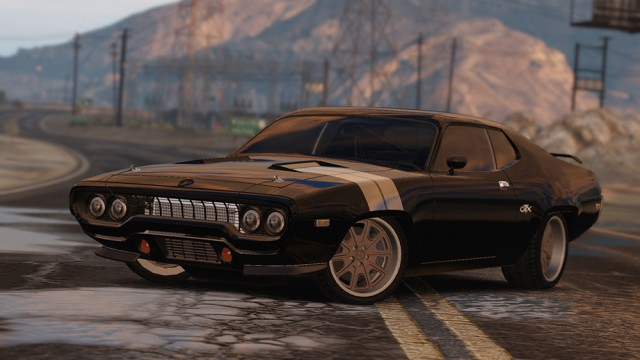 Plymouth RoadRunner GTX 440 1971 [Fate and the Furious] (Add-On/Replace) v1.0