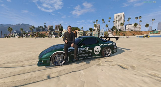 RX-7 C-West Need For Speed Pro Street Skin v0.2