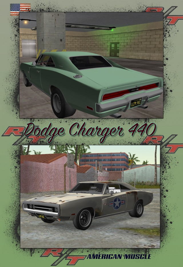 Dodge Charger 440 1970