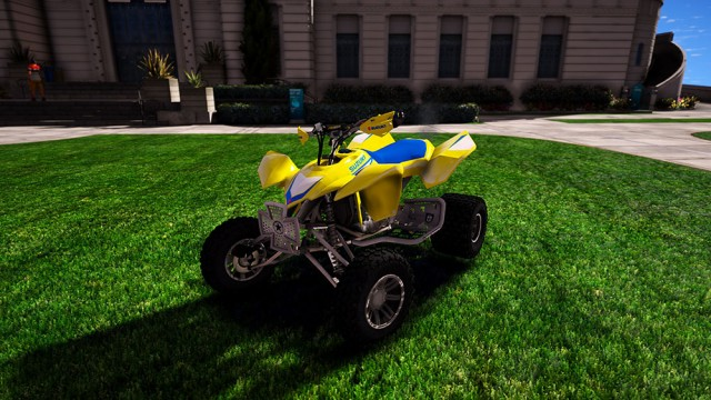 Suzuki LTR 450 2009 (Add-On) v2.0