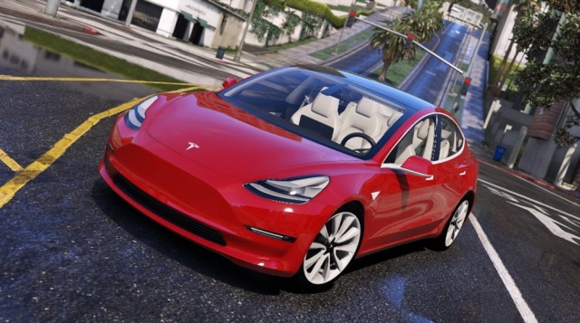 Tesla Model 3 2018 (Add-On/Replace) v1.0
