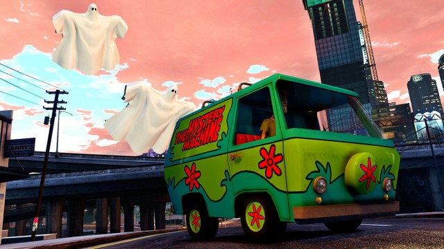 The Mystery Machine (Add-on/Replace) v1.0