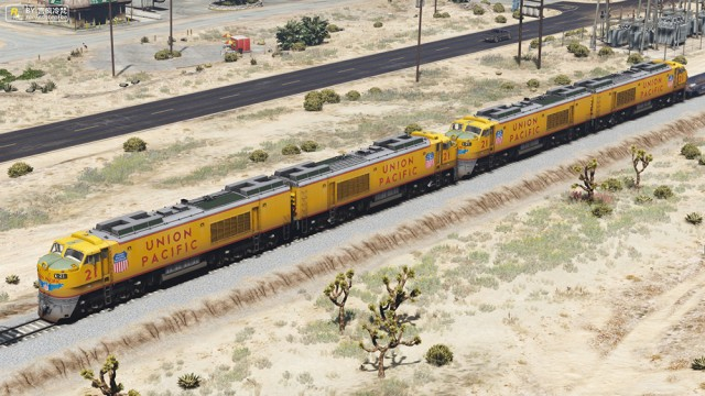 Union Pacific 8500 HP (Add-On/Replace) v1.0