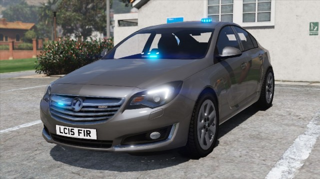 Vauxhall Insignia Fire Officers Car 2015 v1.0