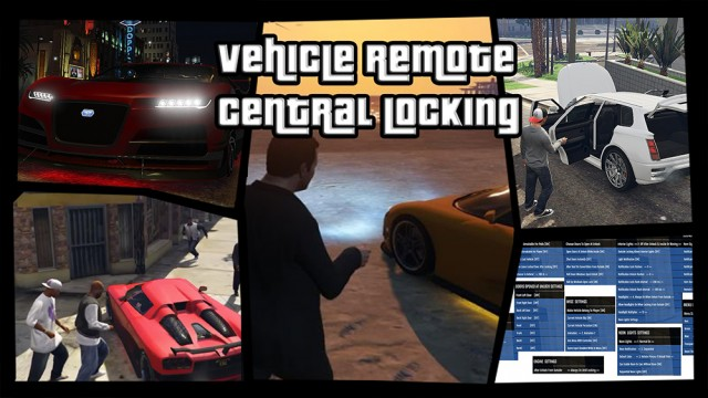 Vehicle Remote Central Locking v2.1.1