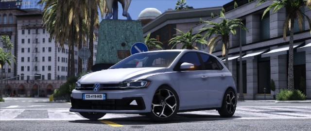 Volkswagen Polo R-Line 2018 (Add-on/Replace) v1.1