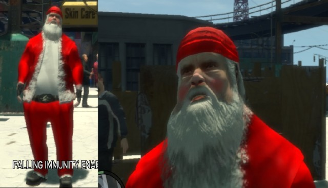 Santa Claus/Father Christmas Ped 1.0