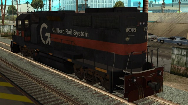 "EMD GP40 Freight ""Guilford Transportation"""