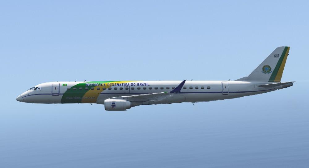 Embraer Lineage 1000E (Add-On) v2.5 скачать для GTA 5 ...