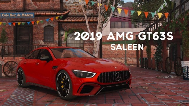 AMG GT 63 S 2019 beta (Add-On/Replace)