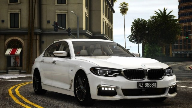 BMW 540i G30 2018 (Add-On) v2.0
