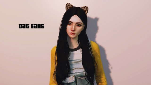 Cat Ears For MP Female v1.0