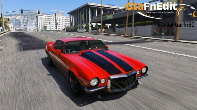 Chevrolet Camaro Pro Touring 1970 (Add-On\Replace)