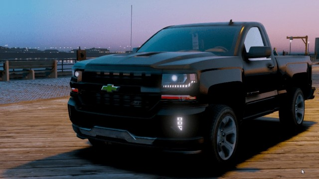 Chevrolet Silverado 2018 Single Cab v1.0