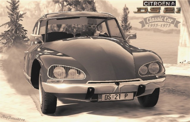 Citroen DS21 (Add-On/Replace) v1.0