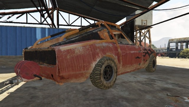 Datsun 240z Mad Max (Add-On/Replace) v1.0