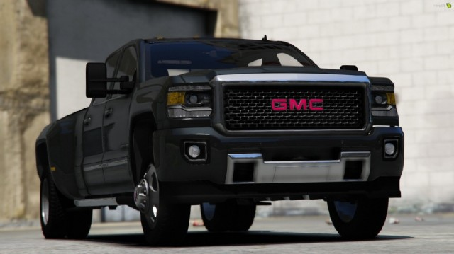 GMC Sierra Denali 3500D 2018 (Add-On) v2.1