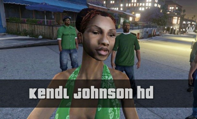 Kendl Johnson HD (Remake)