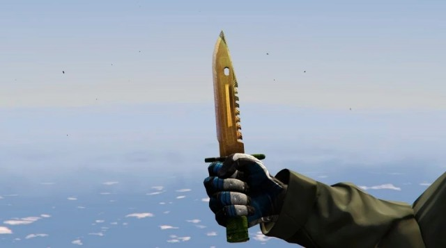 "Knife Bayonet ""Lore"" (CS:GO) v1.2"