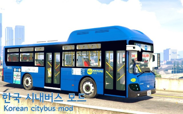 Korean Citybus Daewoo BS110 CN v0.1