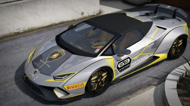 Liberty Walk Lamborghini Huracan Performante Spyder 2018 (Add-On) v1.0