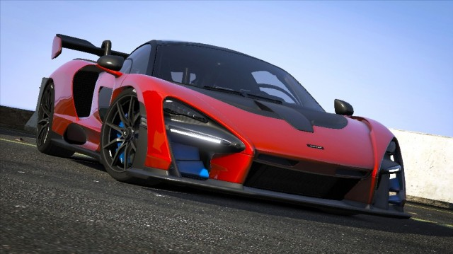 McLaren Senna 2019 (Add-On) v1.0
