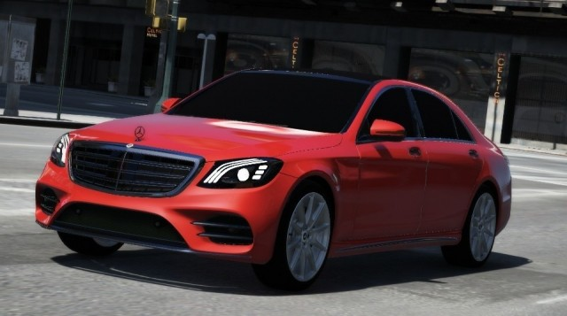 Mercedes-Benz S-Class 2019 (Add-On) v1.0