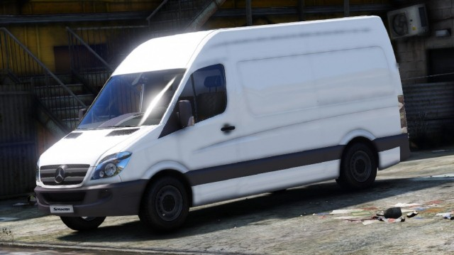 Mercedes-Benz Sprinter 2011 (Add-On) v1.0